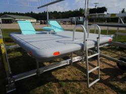 New Otter Island 8x10 Swim Raft